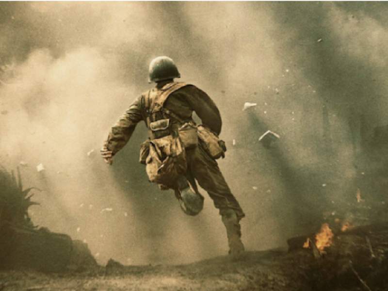 'Hacksaw Ridge, A Rousing Comeback, Mel Gibson, Director Mel Gibson, The Expendables 3, Apocalypto, Gringo, Andrew Garfield, Desmond Doss, World War II