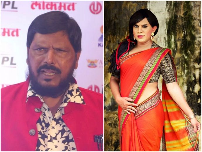 ramdas, athawale, athavale, minister of state, transgender, saree, style, fashion, dress, advice, maharashtra, raipur, vidya rajput, suggestion, clothes, shoes, bright, neon, pink, green, colours, controversy, statement, social, justice, empowerment, queer, men, women, stereotypes