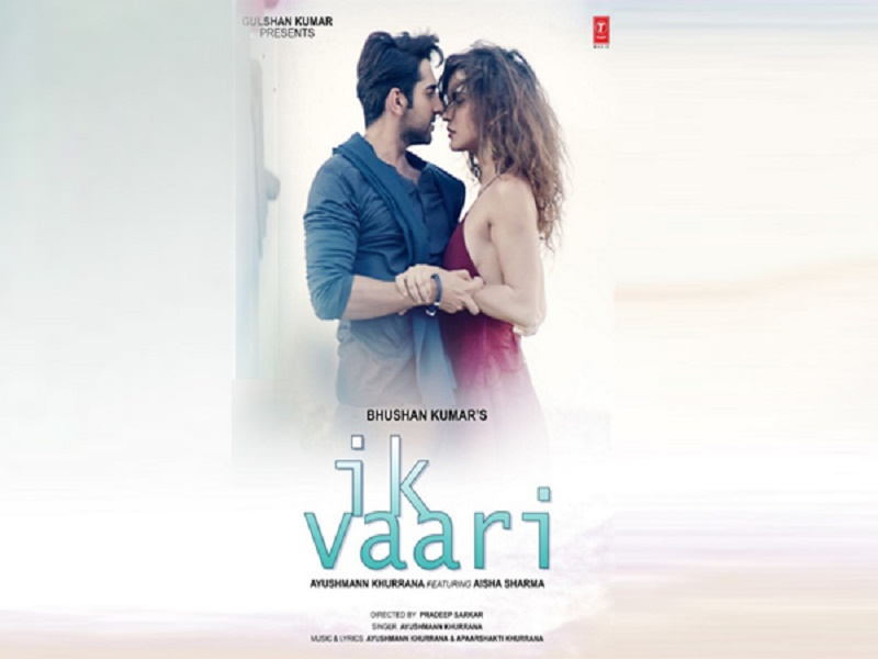 Ayushmann khurrana, song, single, Bollywood, Alisha Sharma