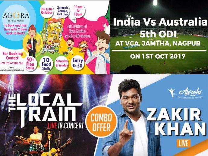 nagpur, nagpur news, events, nagpur events, Zakir Khan, India vs Australia, october, 2017