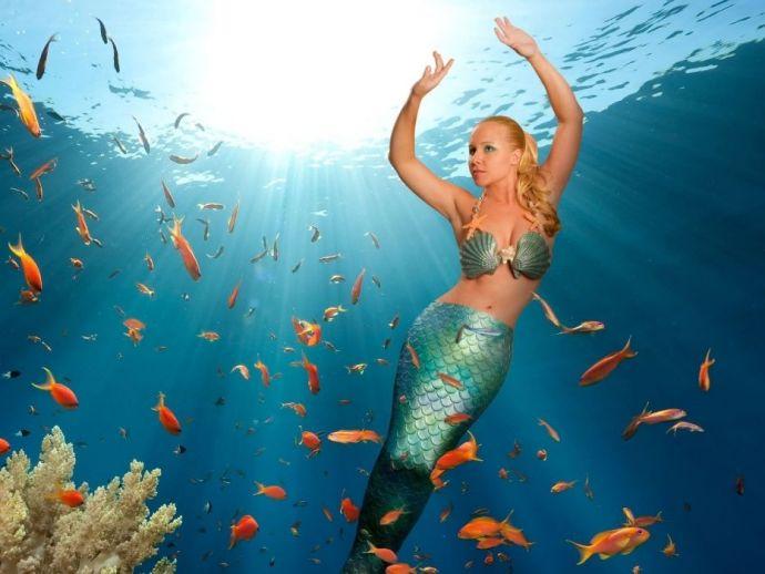 Haenyo, Korea, Underwater, Mermaid, Sea, Fish, History