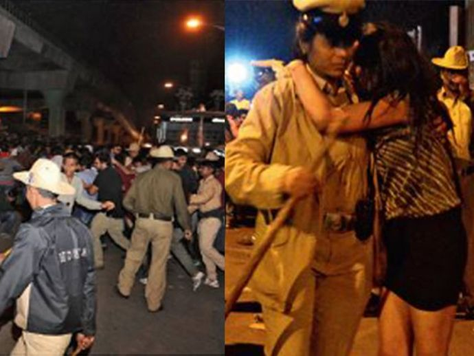 Bengaluru, Molestation, New Year eve, celebrations, police, mass, incident