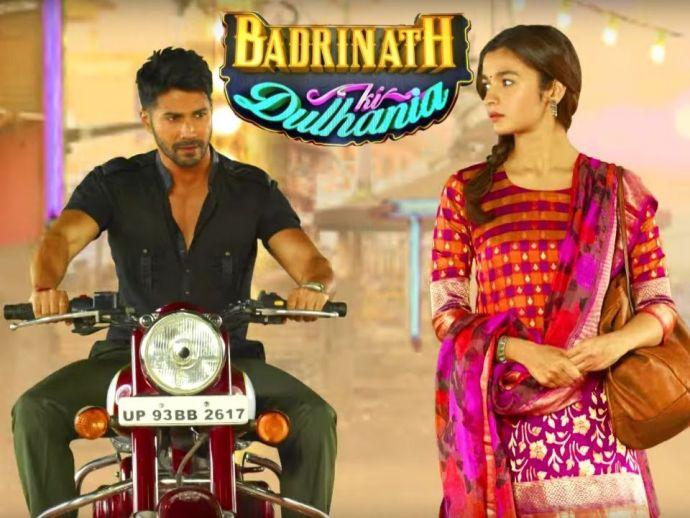 Badrinath Ki Dulhania, comedy, romance, Varun Dhawan, Alia Bhatt, Tamma Tamma Loge, Gauahar Khan, Mohit Marwah, Shweta Basu Prasad, Girish Karnad, Anupama Kumar