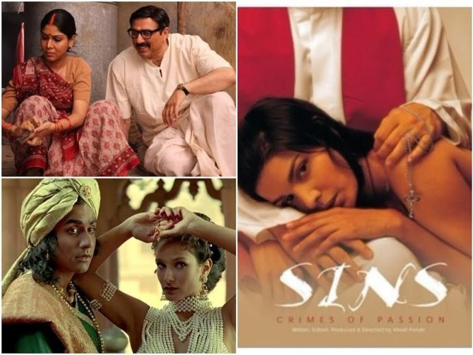 Lipstick Under My Burkha, Urf Professor, Un-freedom Gandu (2010), Sins (2005), The Pink Mirror (2003), Urf Professor (2000), Kama Sutra - A Tale Of Love (1996), Hawa Aney Dey (2004), Mohalla Assi, Censor Board, sex, offensive, abusive, laungage, movie, fi