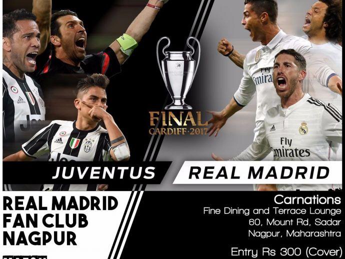 Real Madrid fan club Nagpur organizes UCL Final Screening, Nagpur