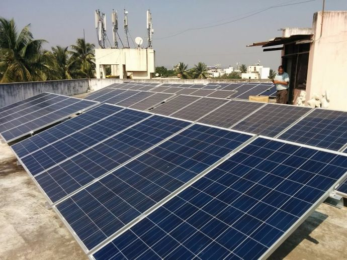 BKPS, Pune, Solar roof, Solar Panels, Solar Roofs in India, Solar roofs in Maharashtra, Solar roofs in Pune, Architecture college in Pune, green, sustainable, power