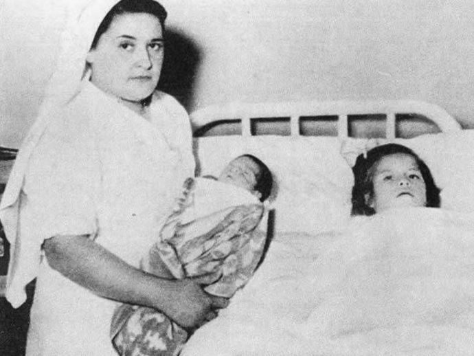 Lina Medina, Peru, village, 1933, 1938, youngest, mother, girl, pregnant, baby, boy, delivery, normal, c-section, sister, world, record, Andes, doctors, Gerardo, Raul, husband, father, incest, arrested, released, hoax, X-rays, biopsies, photographs