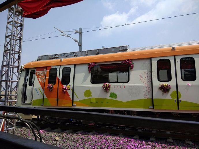 Nagpur, metro, Mahametro, station, construction, work, progress, interior, structure, theme, Wardha Road