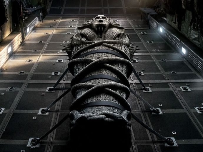 Tom Cruise, The Mummy, Sofia Boutella, Russell Crowe