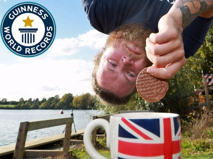 Bungee Jump, Sheffield, England, Guiness World Records, Simon Berry
