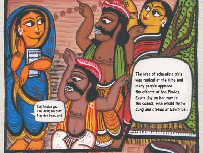 savitribai, phule, graphic, novel, anniversary, azim premji