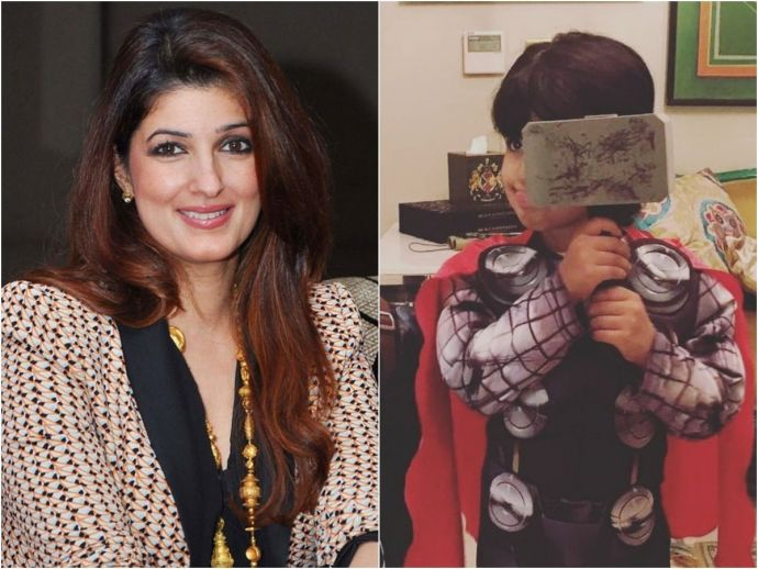 Twinkle Khanna, Akshay Kumar, Nitara, Mrs. FunnyBones, Instagram, Twitter, Thor, actress