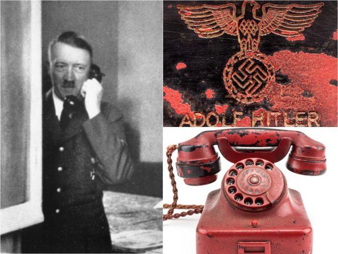 death phone, germany, nazi, UK, auction, world war, adolf hitler