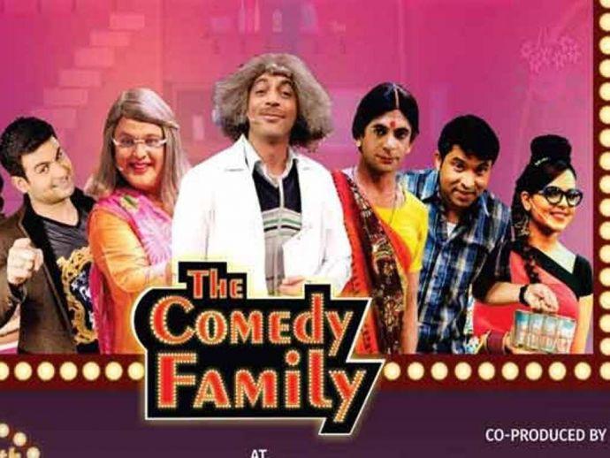 Dr. Mashoor Gulati, Sunil Grover, Kapil Sharma, comedy family, Ali Asgar, Chandan Prabhakar, Sugandha Mishra, Roshni Chopra