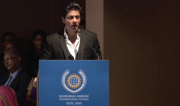 Shah Rukh Khan, SRK, Shah Rukh's Motivational Speech, Motivational Speech By Shah Rukh, Shah Rukh Khan's Speech at Dhirubhai Ambani School