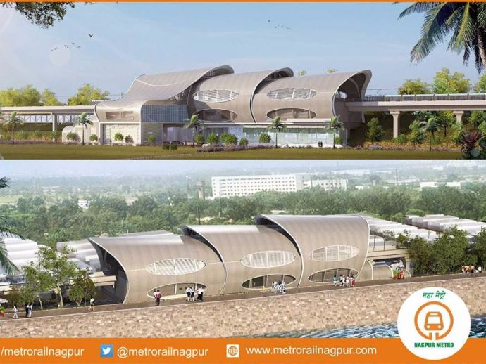 Nagpur Metro Rail, Nagpur, Maharashtra, India, stations, Dharampeth, Gaddigodam, Ajni Sq, Zero Mile, development, concept, pictures, visualisation, automotive, Nagpur Metro Stops, Metro Stop At Dharampeth Nagpur, Gaddigodam Metro Stop At Nagpur, Ajni Metro Stop Nagpur, Zero Mile Stop, Details About Nagpur Metro Stations, Nagpur Metro Station List