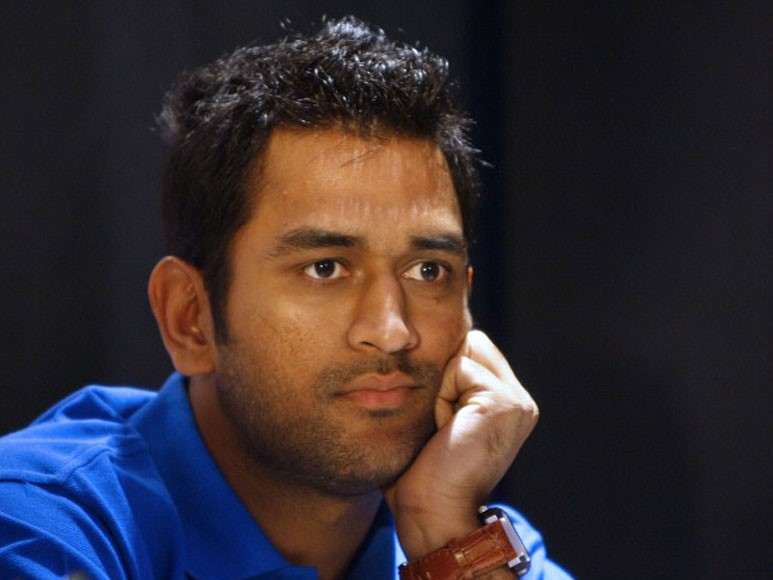 MS Dhoni Getting A New Haircut, MS Dhoni, A New Haircut