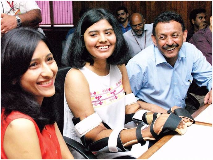 Kochi, Amrita Hospital, upper arm double hand transplant, Pune girl gets Asia's first double hand transplant