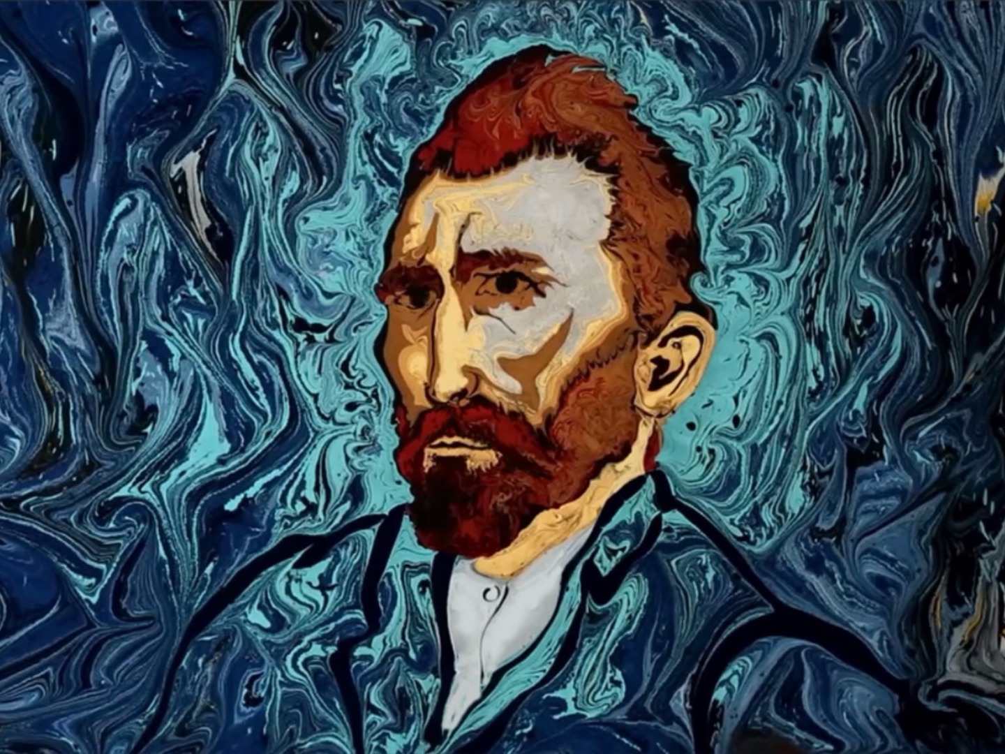 Vincent van Gogh, The Starry Night, Garip Ay, Ebru