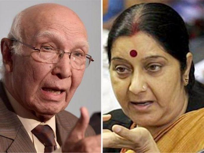 Demonetization, Sartaz Aziz, Sushma Swaraj, Diplomats, Islamabad, New Delhi