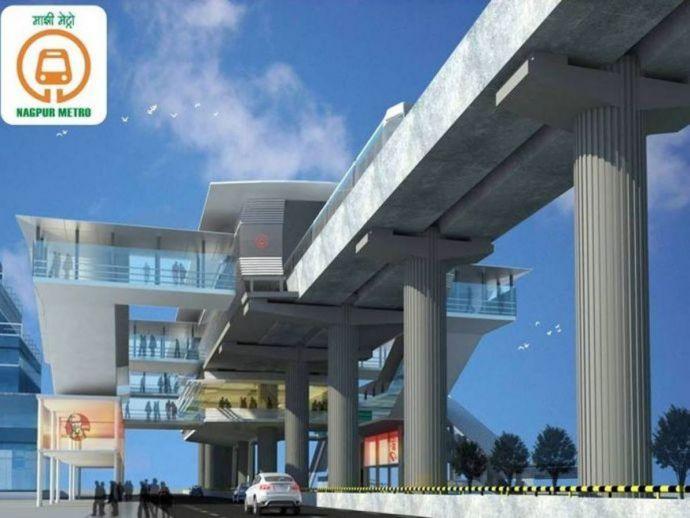 nagpur, nagpur news, nagpur metro, metro station, Mahametro, semi-name, nagpur metro station