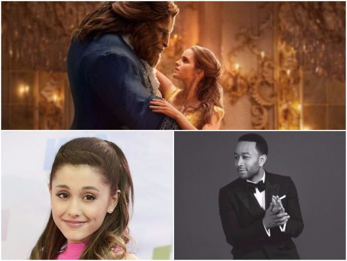 Ariana Grande, John Legend, Beauty And The Beast, theme, song