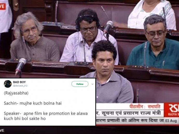 Sachin Tendulkar, Rajya Sabha, Mary Kom, Rajya Sabha member, Twitter trolls, attendance, present, jokes