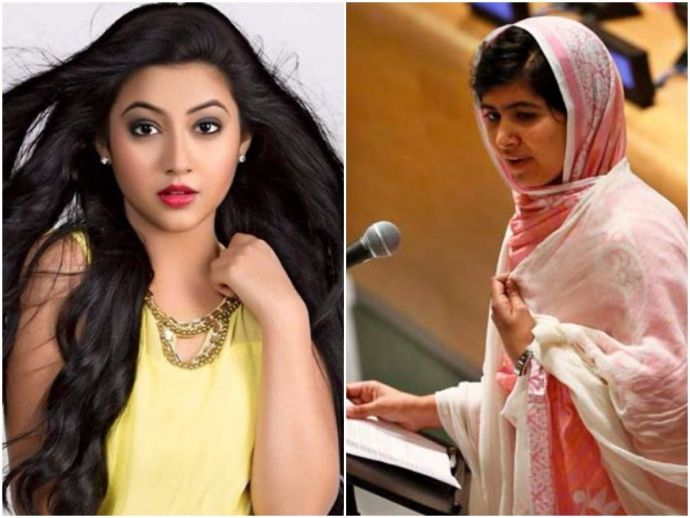 Reem Sheikh, Gul Makai, Nobel Peace Prize winner, Malala Yousafzai, biopic, Kashmir, Pakistan