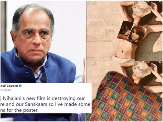 Julie-2, Pehlaj Nihalani, Double standards, Forgetting his beloved values