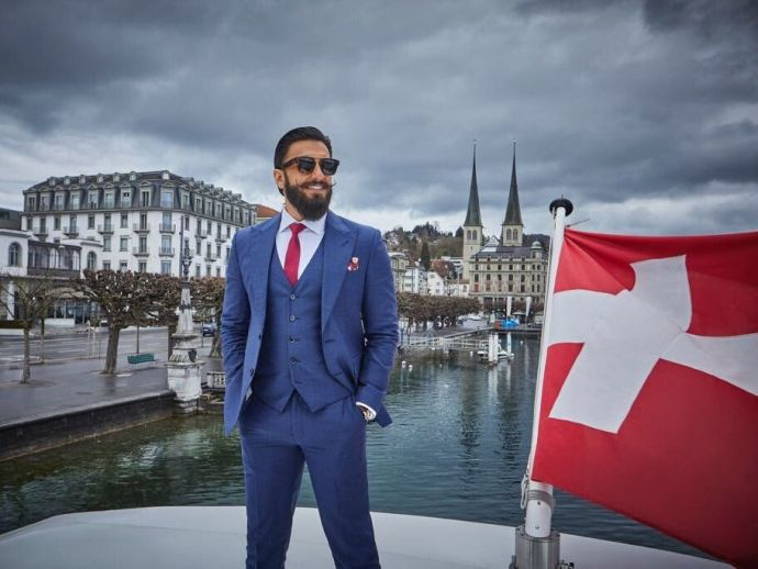 Ranveer Singh, switzerland, holiday, nature, ambassador, india, Ranveer singh's Instagram post, @ranveersingh, Brand Ambassador Of Switzerland Tourism, Switzerland Tourism Promoter, Switzerland Tourism