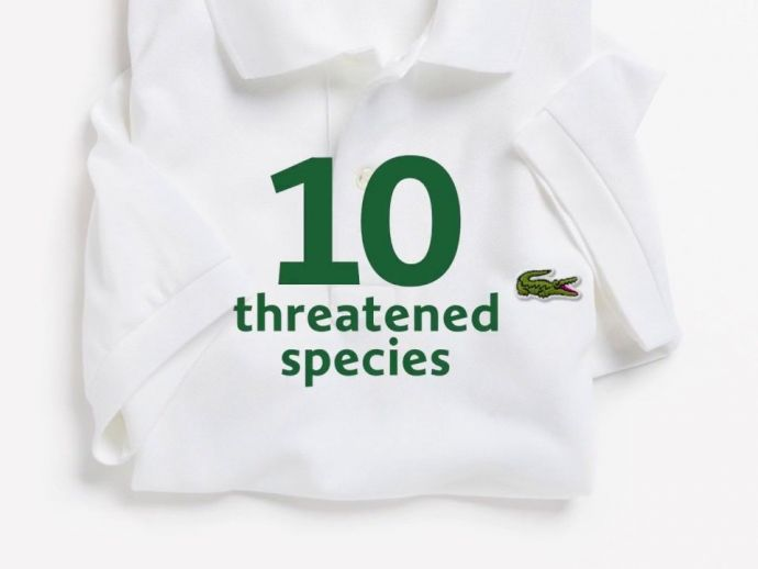 lacoste, french, clothing, apparel, brand, wildlife, conservation, International Union for Conservation of Nature, PR, awareness, campaign, limited edition, polo, shirts, partnership, range, logo, crocodile, endangered, species, wild, Northern Sportive le
