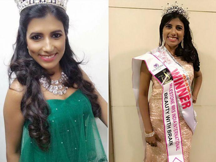 Shrruti Patole Clarence, Shrruti Patole, Maharashta's beauty contestant, Mrs universe, 2017, durban, south africa, beauty, pune