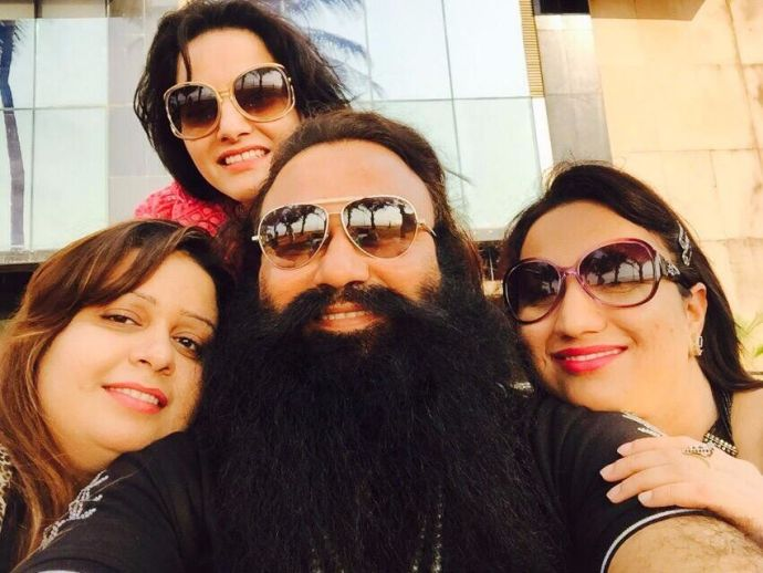 Gurmeet Ram Rahim, rape, case, visitors, list, jail, Honeypreet Insaan