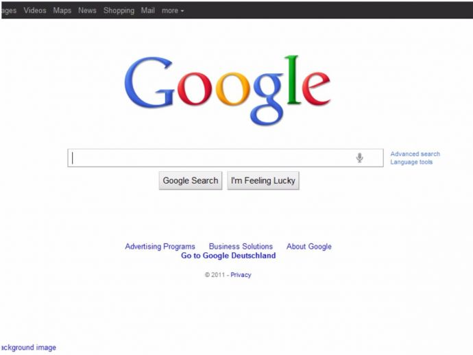 Google, simple Google homepage, Sergey Brin, Marissa Meyer, design
