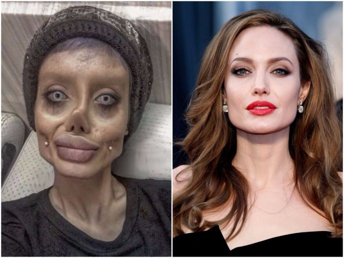 Sahar Tabar Iran >> This Is What Sahar Tabar Has To Say About Her 50 Surgeries To Look Like Angelina Jolie - Reacho