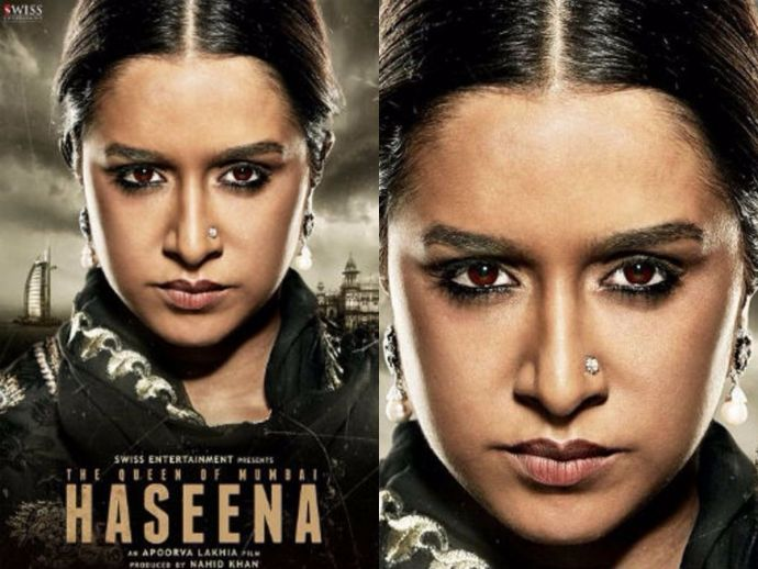 Shraddha Kapoor, Dawood Ibrahim, Haseena, firstlook, okjaanu, bollywood, movie, actress
