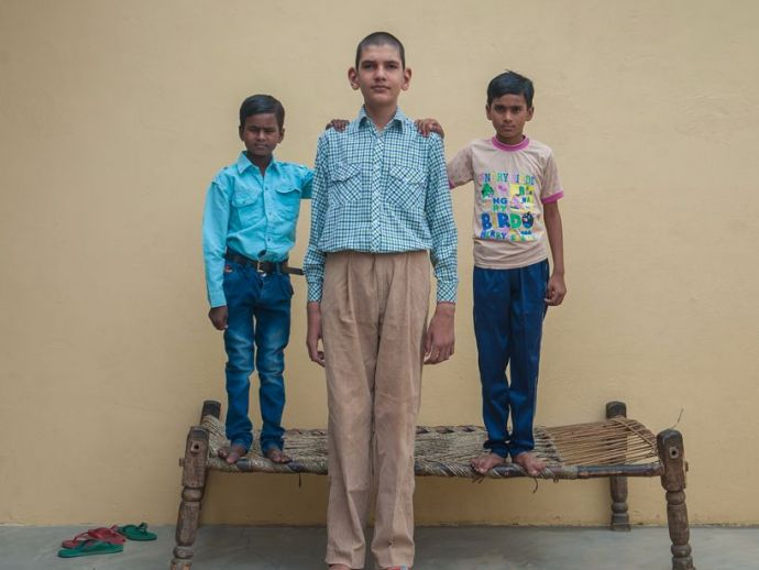 World's tallest boy, Karan Singh, Guinness, Shweatlana Singh, world, records, height, meerut, india