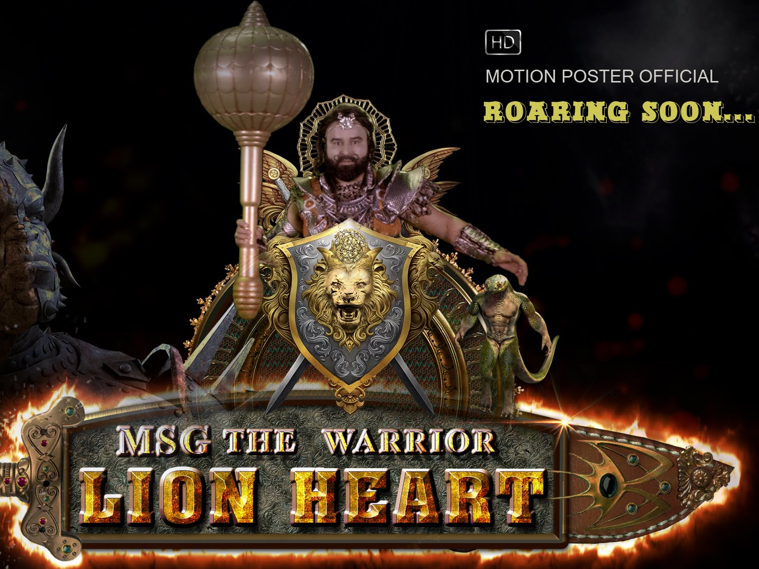 MSG, Lion Heart, MSG The Warrior Lion Heart, Great MSG, Gurmeet Ram Rahim Singh, Trailer of MSG