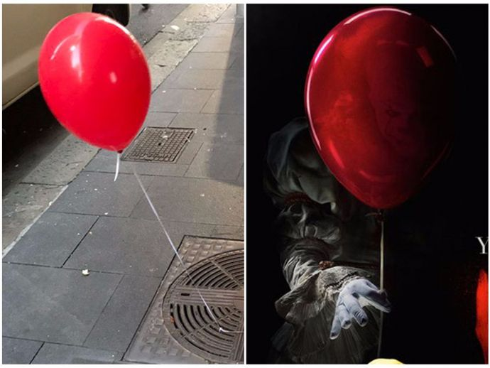 Sydney, Red Balloon, Creepy, Scary Movies, IT, Stephen King, Novels, Scary Novels, Promotion