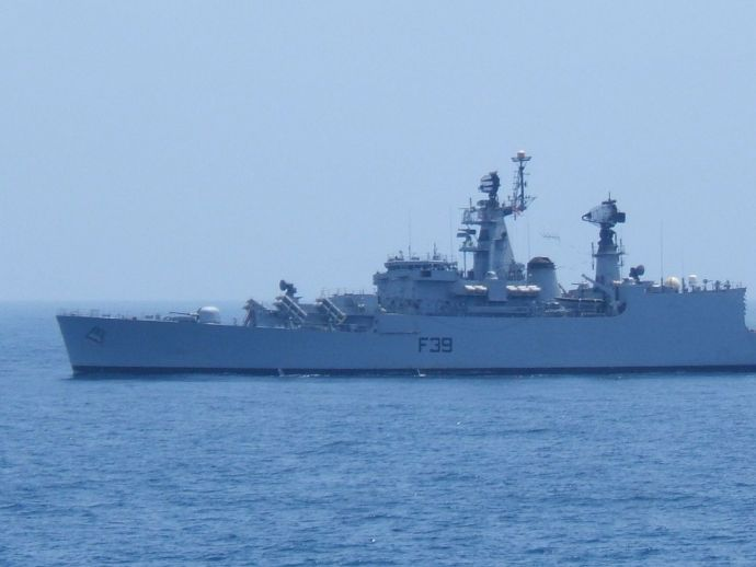Indian Navy, Accident, INS Betwa