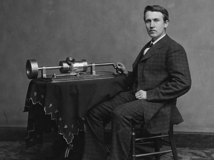 1887, voice, recording, human, science, discovery, innovation, thomas edison, american