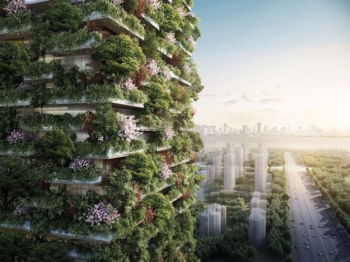 Vertical Forest, China, Asia, India, Stefano Boeri, Delhi, Nanjing, Odd-Even