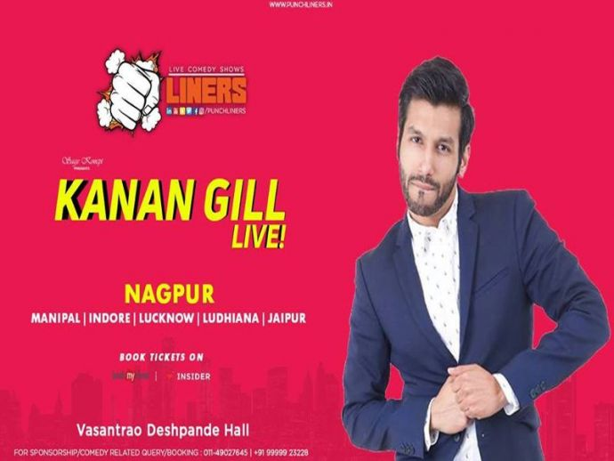 Nagpur, Event, Punchliners, Standup Comedy, Ft Kanan Gill Live