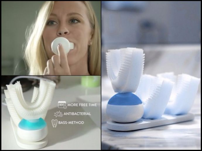 kickstarter, automatic toothbrush, fast, cleaning, toothbrush, amabrush
