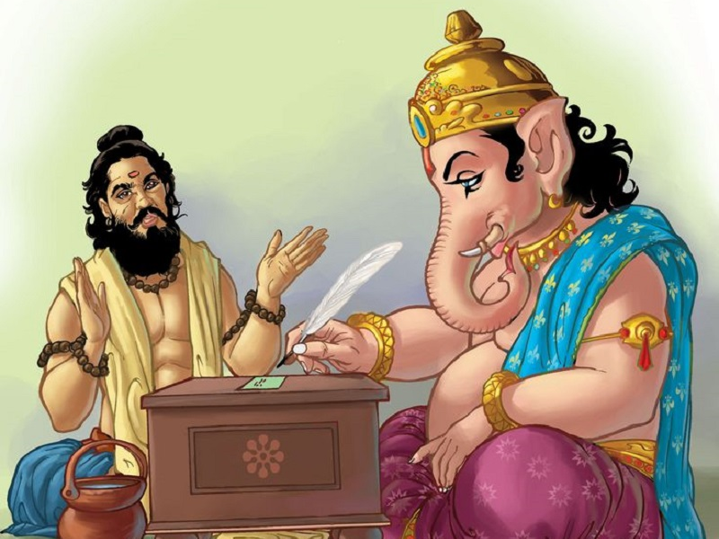 Social Service At Ganesh Chaturthi, Stationery Offerings In Ganesh  Chaturthi