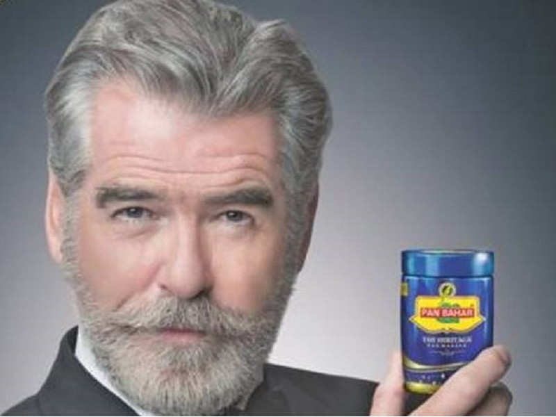 Pierce Brosnan, James Bond, Pan Masala, Entertainment, Advertisement, Secret Agent