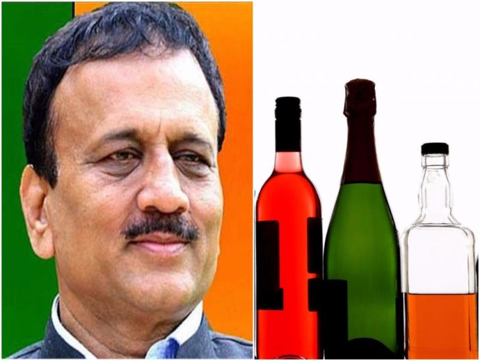Girish Mahajan, comment, women, alcohol, sales, surge, increase, remark, apology
