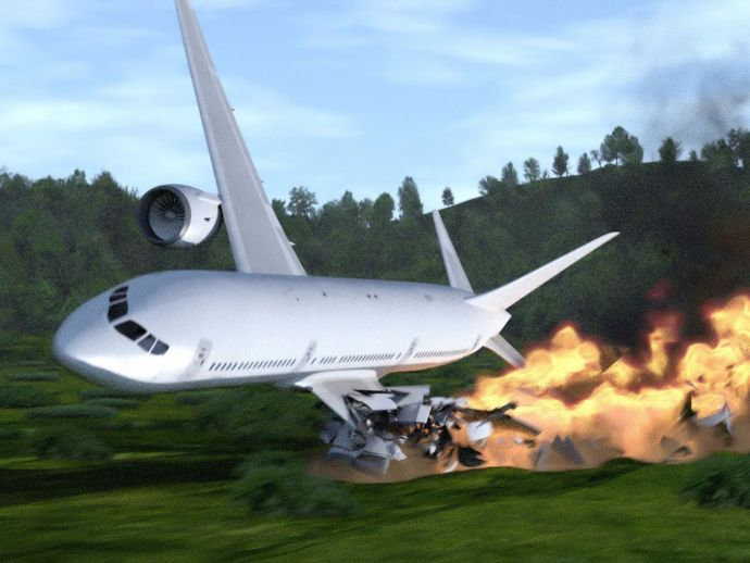 Pakistan Aircraft Crash, Aircraft Crash