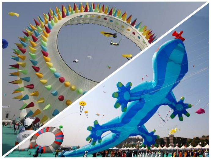 International kite festival, Gujarat, CM, Ahmedabad, Vijay Rupani, Sabarmati Riverfront, Governor O.P. Kohli, Kite festival, Indonesia, India, Malaysia
