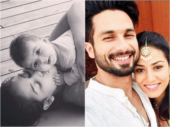 Shahid Kapoor, Misha Kapoor, Meera Rajput, entertainment, movie, actor, bollywood